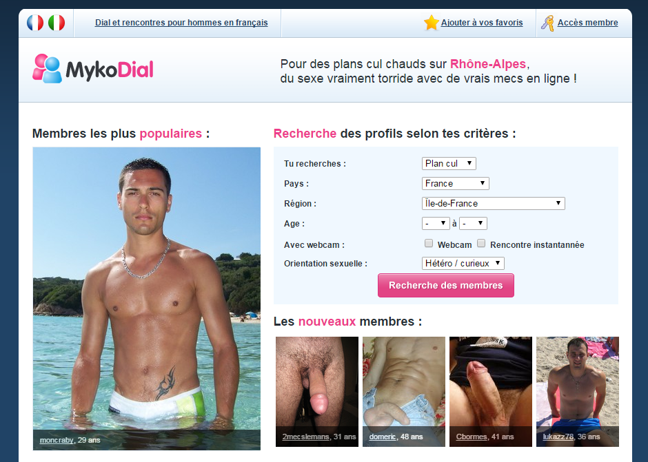 Site rencontre gay hiv